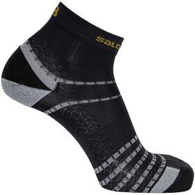 Salomon Nso Mid Run Socks, black/gold